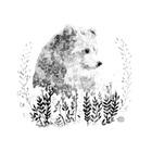 Melancholy bear