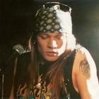 Axl, Steven, Izzy, Duff, Slash = Guns N' Roses.