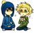 Alicia/Craig Tucker and Tweek Tweak >_______<''
