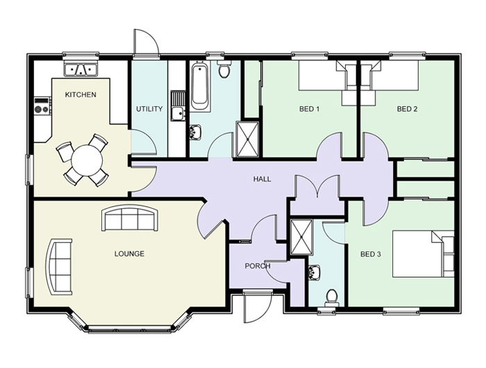Luxury floor plans home design ideas best selling House blueprint maker