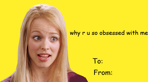 71 images about valentine cards on We Heart It – Mean Valentine Cards