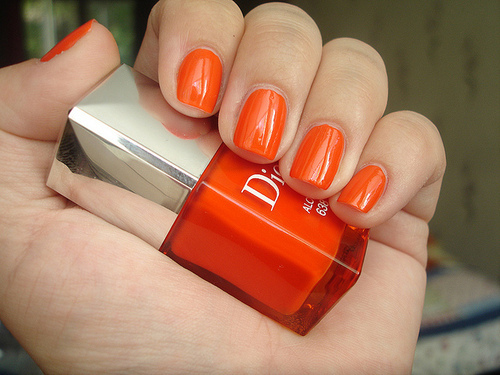 Orange Nails Tumblr Orange nails tumblr orange