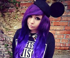 Verena Schizophrenia Purple Hair