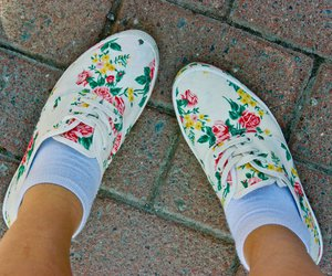 shoes flower