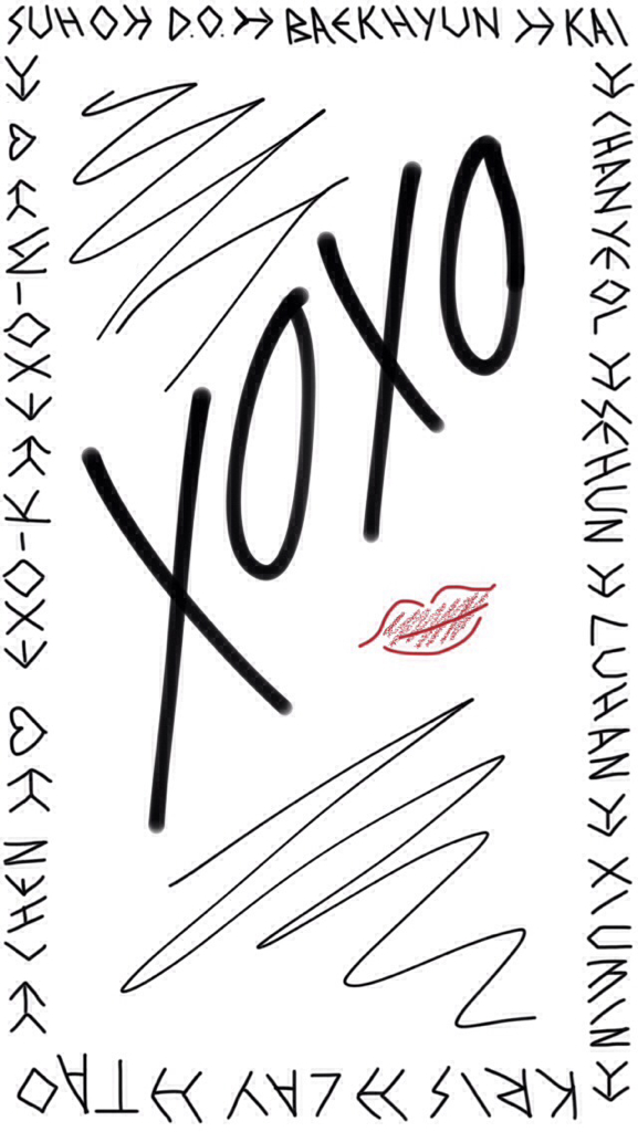 exo wallpaper pastelminty we heart it exo xoxo