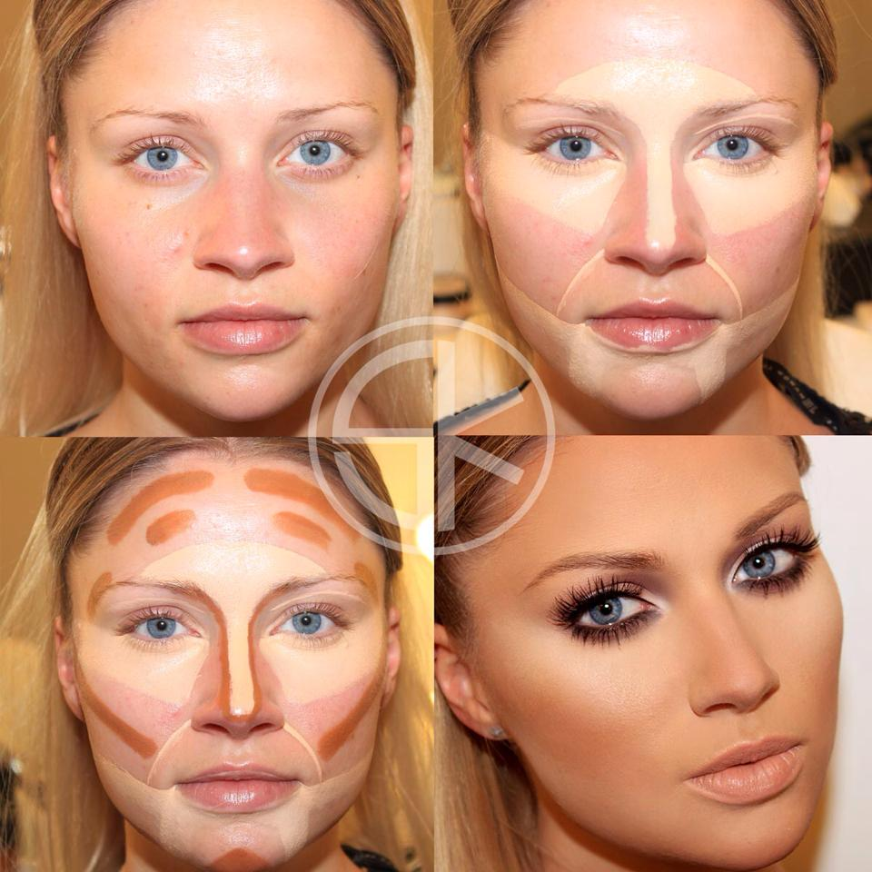Что нужно для макияжа лица в домашних условиях фото до и после