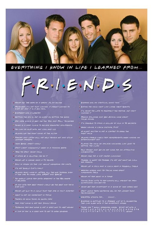 friends tv show quotes with pictures