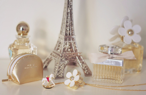 cherie, daisy, dior, eiffel tower, flower, marc jacobs - inspiring picture on Favim.com