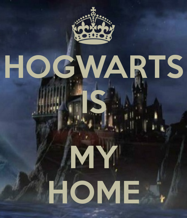 Image result for hogwarts is my home