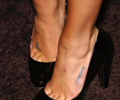 A Drop of Ink: Celebrity Ink - Lea Michele