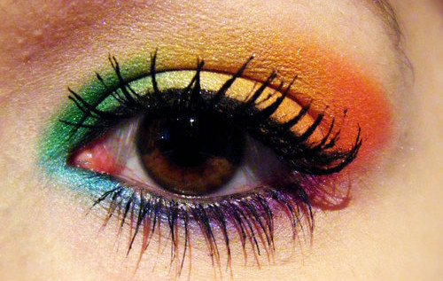 Face,eye,eyes,make,up,rainbow,lovely-c9d550418da867f9d9859b7f42a0cd84_h_large