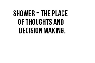 decision, emo, place, quotes, shower, thoughts - inspiring picture on Favim.com