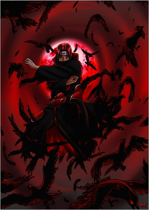 Flock_of_crows___itachi_by_pokefreak_large