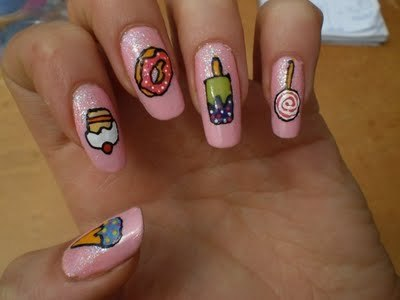 Cute nail designs - Pretty easy nail designs to do at home ...