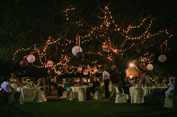 Fairy Lights Outdoor Weddings : An Outdoor Fairy Light Wedding in South Africa  Whimsical Wonderland