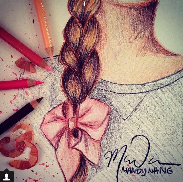 Фото на аву нарисованные для девушек