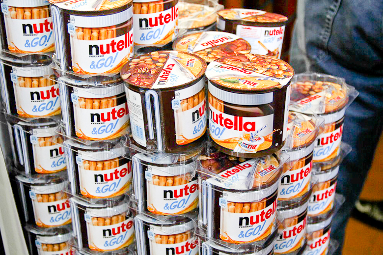 Where Can I Get Nutella Snack And Drink