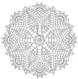 Vintage Doily Patterns, Free Doily Patterns, Lace Doily Pattern
