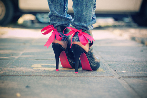 Gamei-nesse-sapato-heels-high-heels-jeans-laces-pink-favim.com-73965_large