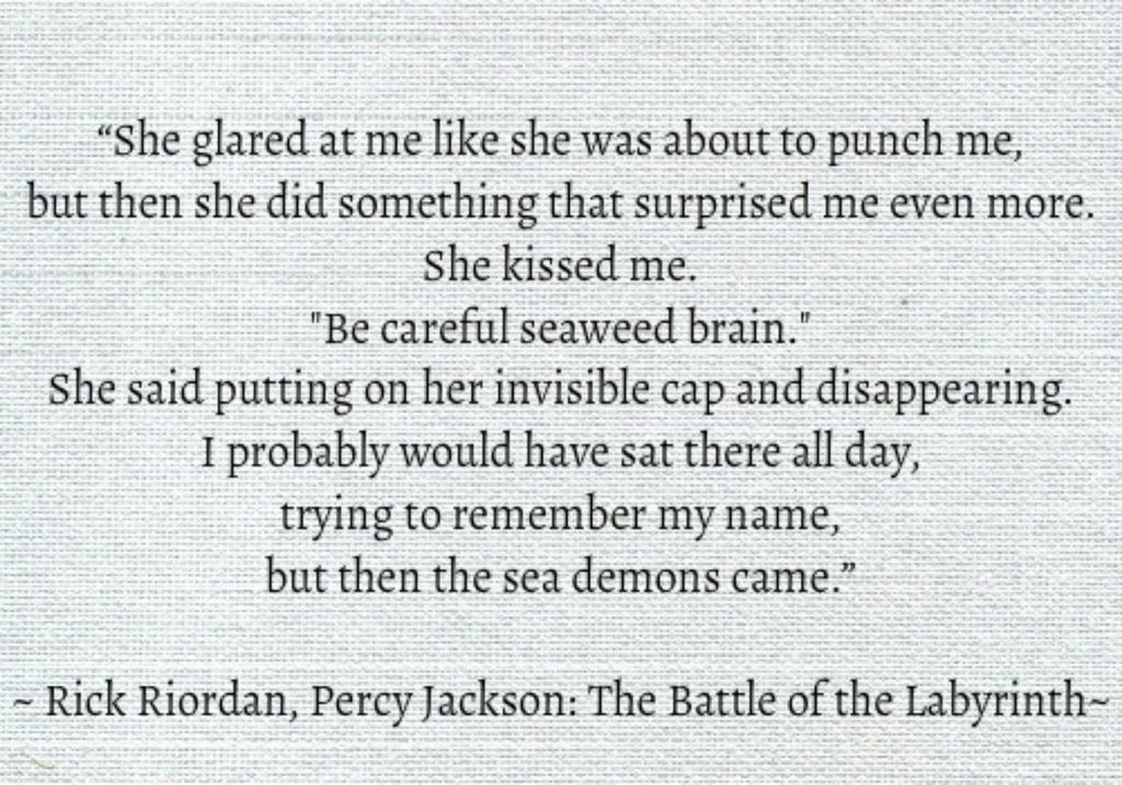 Percy Jackson: The Battle of the Labyrinth ~R. Riordan
