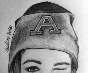 130 images about disegni di ragazze on we heart it see for Disegni bianco e nero tumblr
