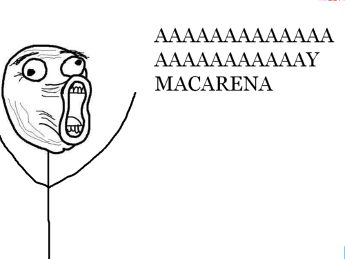 This is how we all sang Macarena - The Meta Picture