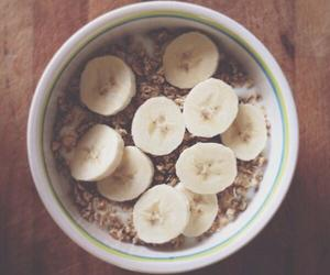 bananas fruit oatmeal