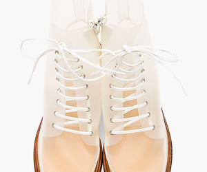 translucent boots mm6