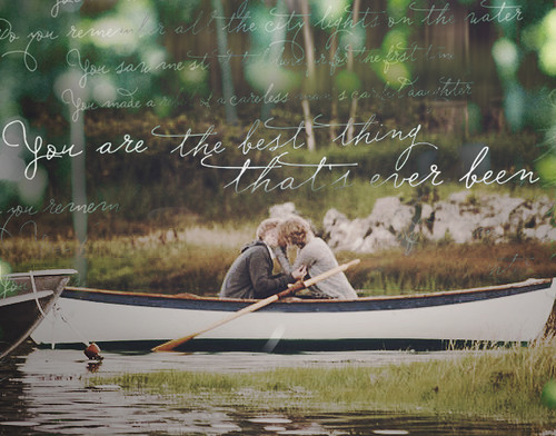 любовь как лодка стих