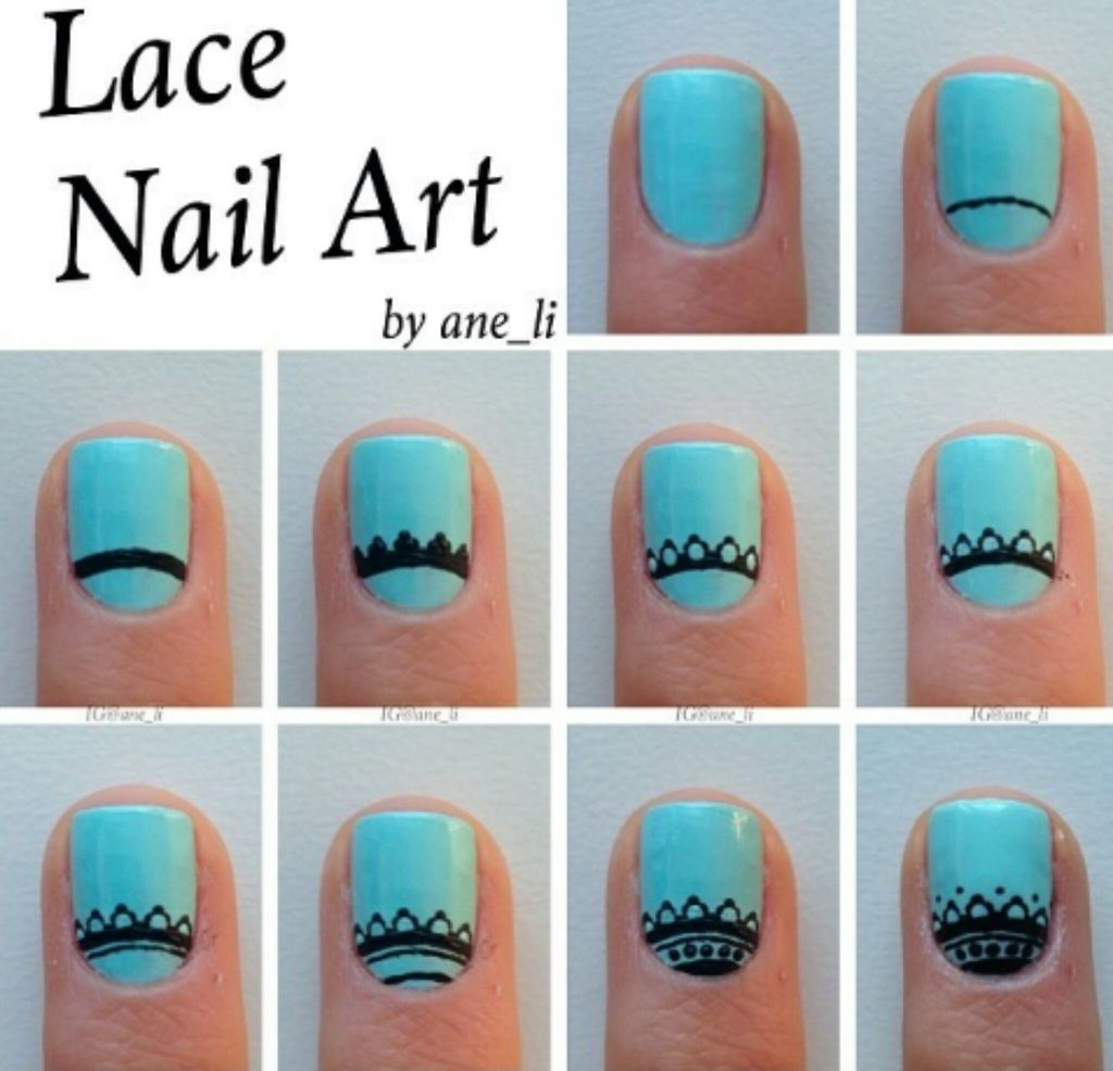 Как рисовать на ногтях гель лаком пошаговое для начинающих