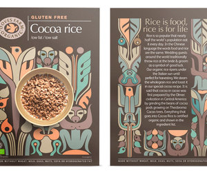package design cocoa rice