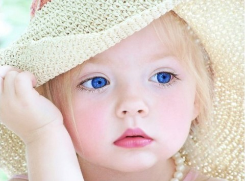 Baby Images Girl on Cute Baby Girl Face   Baby Pictures   Baby Pictures Org On We Heart It