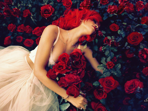 Beauty,girl,hair,red,red,hair,roses-f572dcdcef19090444cb635f2723b13a_h_large