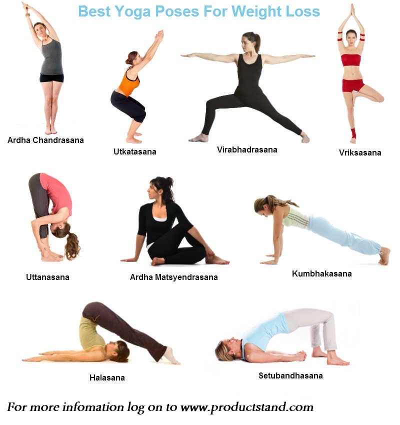 lose weight with yoga at home