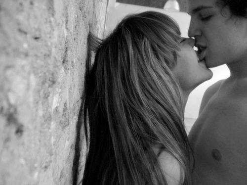 Black Boy Kissing White Girl