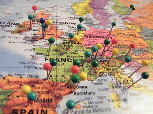 Wanna go by usafgal – World Map Travel Pins
