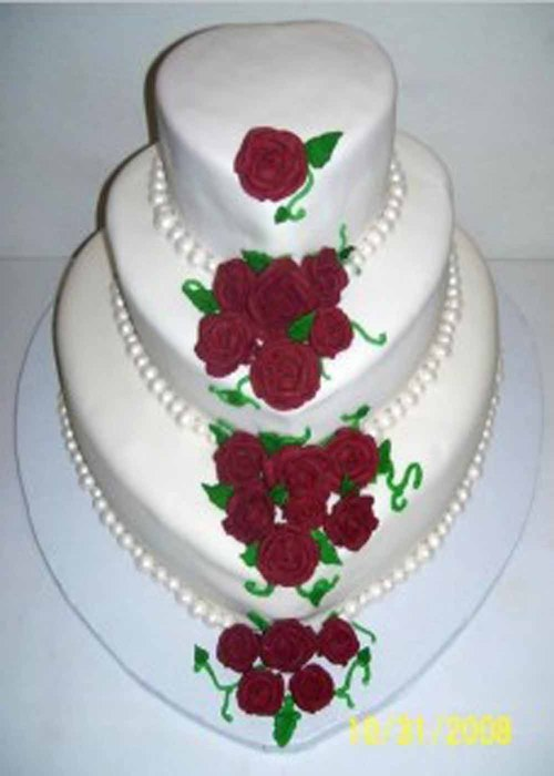 Beautiful White Wedding Cakes Wedding Fortuna