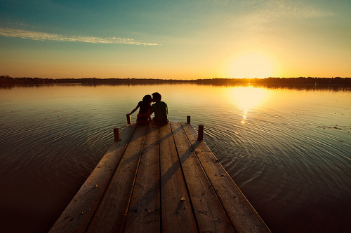 Love-romance-summer-sunset-water-favim.com-90492_large