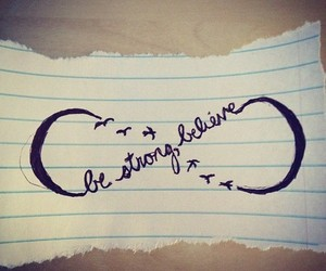 be strong
