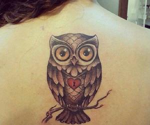 owl tattoo coruja