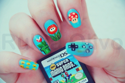 Cool-cute-mario-nail-art-nails-nintendo-favim.com-88891_large