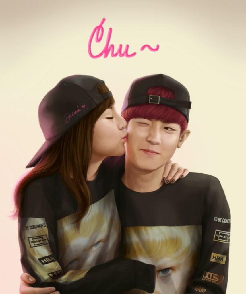 Exo chanyeol and 2ne1 dara dating