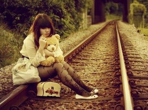 Alone-girl-railroad-railroad-tracks-teddy-bear-favim.com-69882_large
