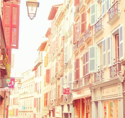 buildings, colorful, pastel, pretty, shophouse, vintage - inspiring picture on Favim.com