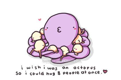 Cartoon,funny,octopus,8,people,cute-2da696b8b7b69b1fe68d689689d93a02_h_large
