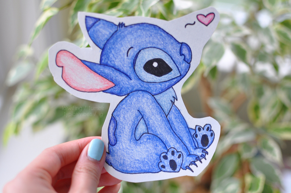 cute stitch tumblr stitch hearts - photo #6