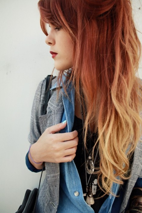Blonde Hairstyles on Ombre Hair Trend     Hair Colors Ideas On We Heart It   Visual
