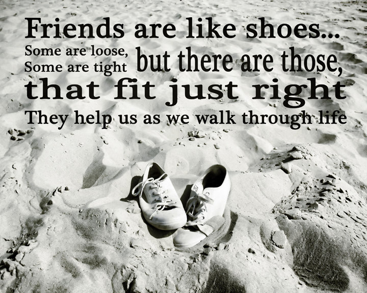 Group of black and white Black And White Quotes About Friends