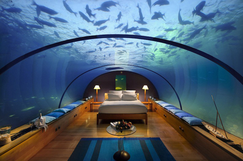 Maldives Underwater Bedroom @ ShockBlast