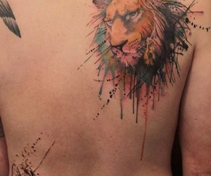 examples of lion tattoo